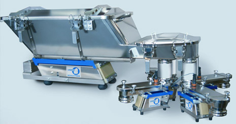 batching trough conveyors with electromagnetic vibrator
